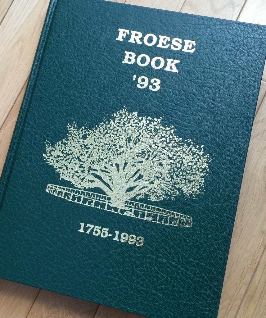 FroeseFamilyBook3